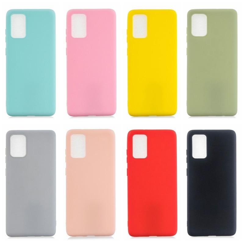 A51 S20 Plus Case For Samsung Galaxy A51 Case Funda Samsung S20 Ultra S20plus A 51 A71 A01 A11 A21 A41 A81 A91 Silicone Cover