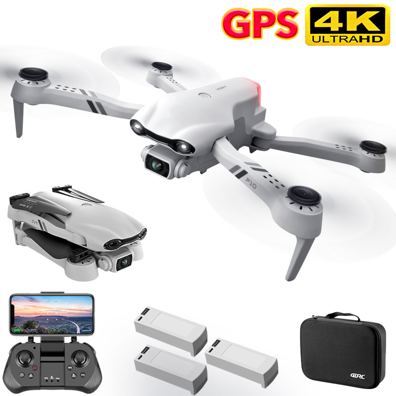 2021 New 4K HD dual camera with GPS 5G WIFI wide angle FPV real-time transmission rc distance 2km professional drone