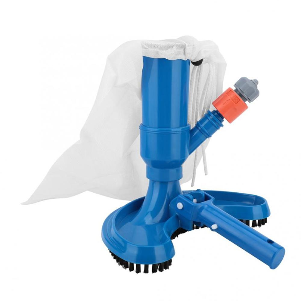 Mini Jet Swimming Pool Vacuum Cleaner Floating Objects Cleaning Tools Suction Head Pond Fountain Vacuum Brush Cleaner