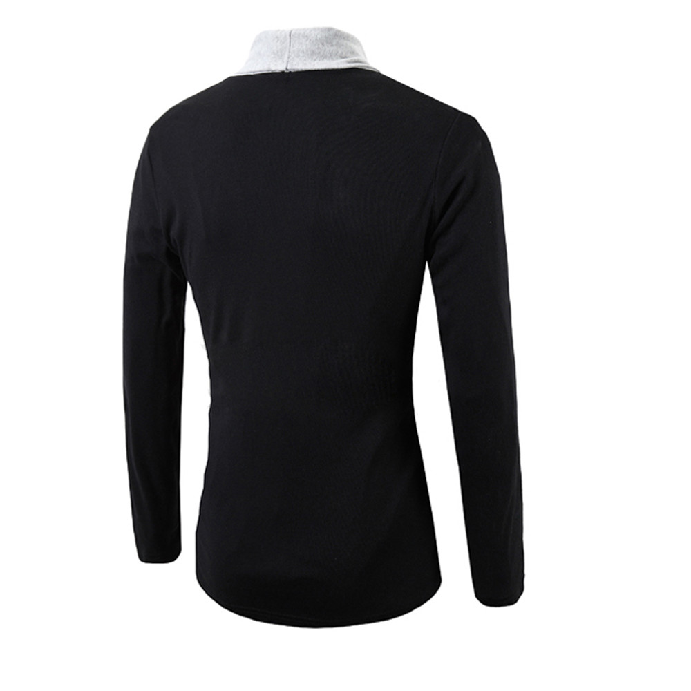 New Winter Wool Coat Slim Fit Jackets Mens  3