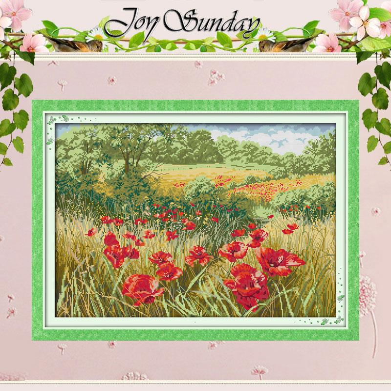 Iris Flower Counted Cross Stitch 11CT 14CT Cross Stitch Set DIY Chinese Cross Stitch Kit Embroidery Needlework,11CT picture printed