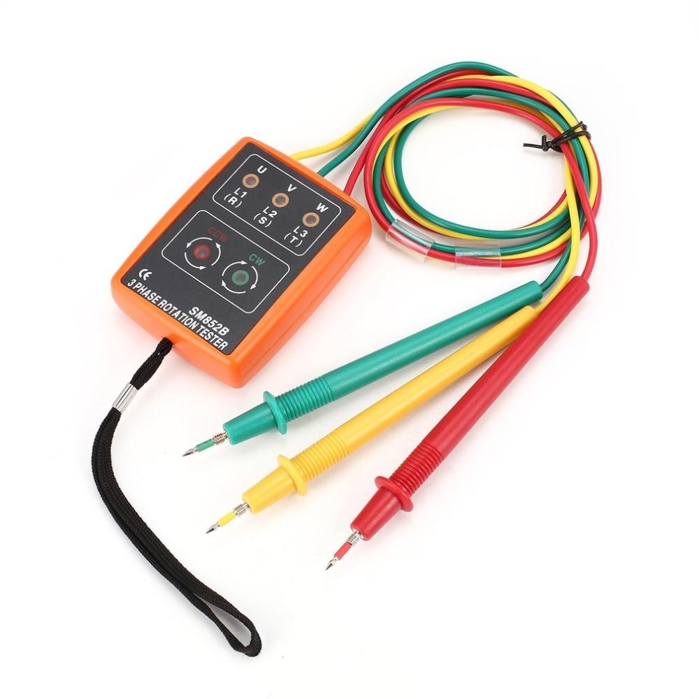 tester digital fase indicador detector led buzzer