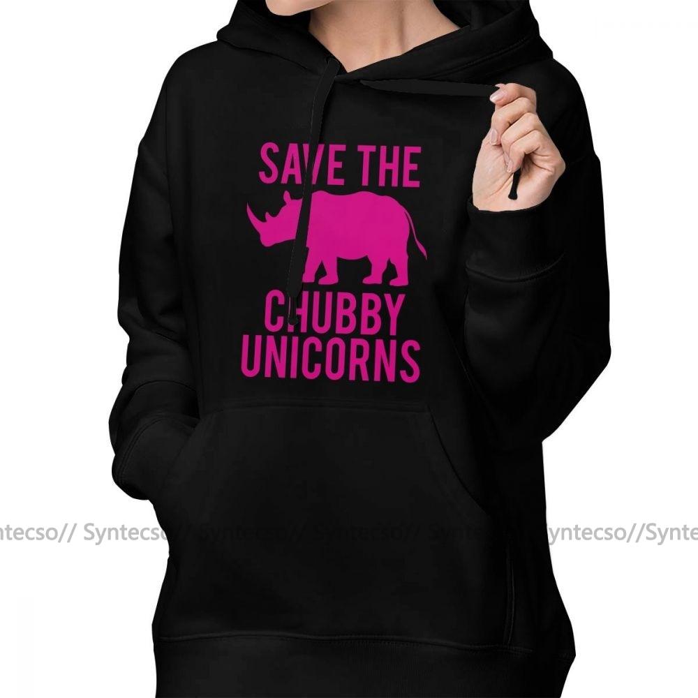 Save The Chubby Unicorns t Shirt Streetwear Mens Hoodies Sweatshirt