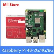 Raspberry Pi 4 Model B 2/4/8GB RAM linux Development Board Cortex-A72 64-bit Quad core 1.5GHz SOC 2.4&5.0 GHz WiFi Bluetooth 5.0