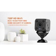 720P HD wifi Беспроводная мини ip-камера ночного видения детектор движения мини видеокамера циклическая видеокамера встроенный аккумулятор