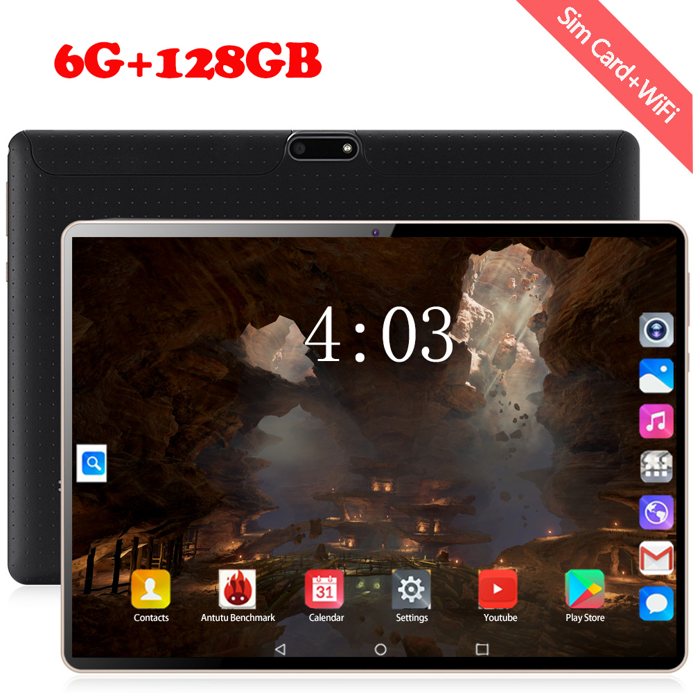 2020 Free Shipping Android 8.0 Original 10.1 Inch 3G/4G LTE Phone Tablet PC 8 Octa Core RAM 6GB ROM 64GB 128GB IPS Tablets Pcs