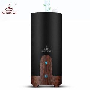 Image 1 - Gx. difusor ultra sônico umidificador de carro usb difusor de óleo essencial liga portátil mini carro aroma difusor névoa maker com lâmpada led