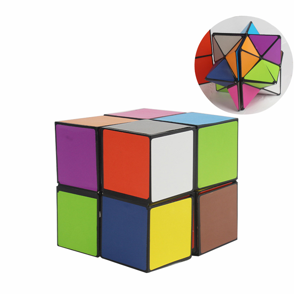Colorful Folding Cube  Star Infinite Cube Puzzle Toy Children Kids Gift Toy Children Kids Toy Youth Adult Instruction