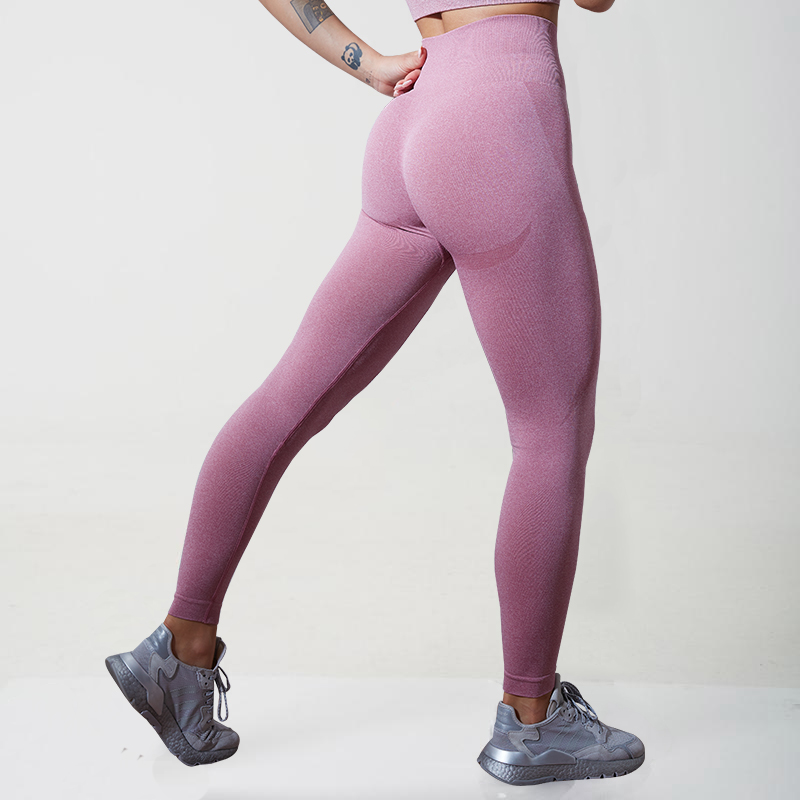 Leggings sem Costura Esportes de Cintura Controle da Barriga Normov Push Yoga Calças Alta Leggings Correndo Ginásio Collants Trainning up