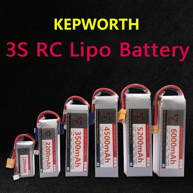 3S LiPo batterie XT60/T Plug 11.1V900 1500 2200 3500 4500 5200 6000mAh pour RC avion voiture avion bateau camion réservoir Drone hélicoptère