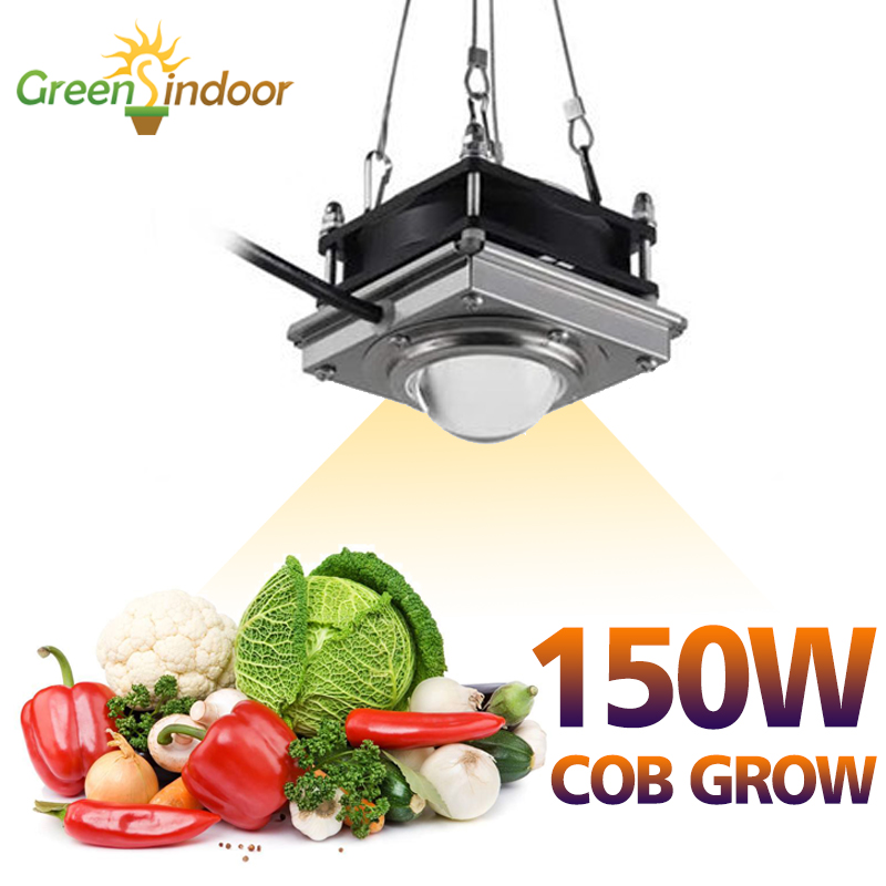 150W COB LED Grow Light Full Spectrum Fitolampy Indoor For Plants 4000K Growing Lamp Tent Garden Phyto Seed Plant Flowers Growth|Growing Lamps| |  - title=