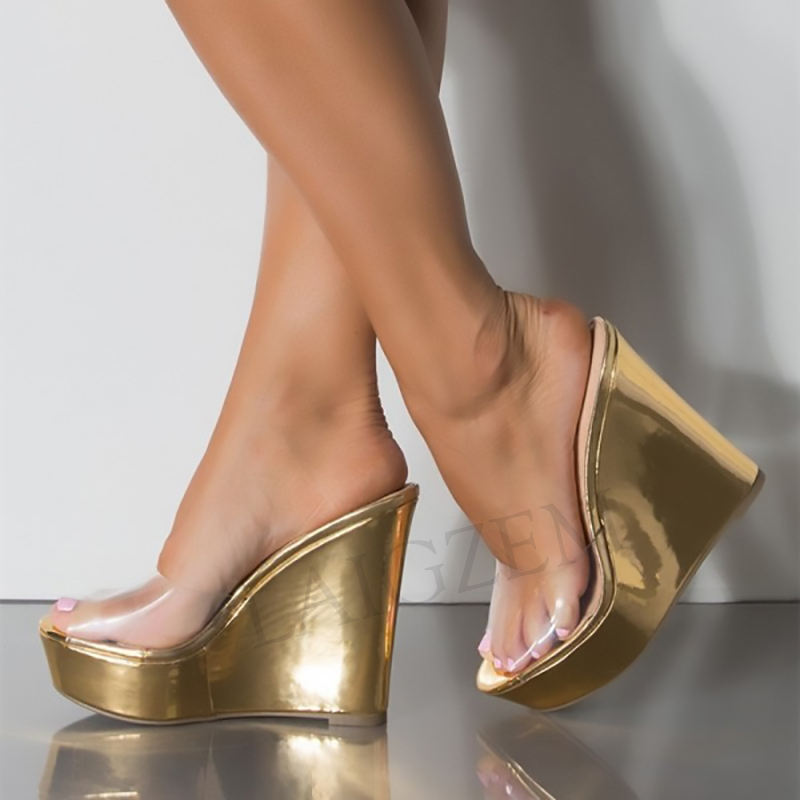 LAIGZEM 2020 Women Sandals Platform