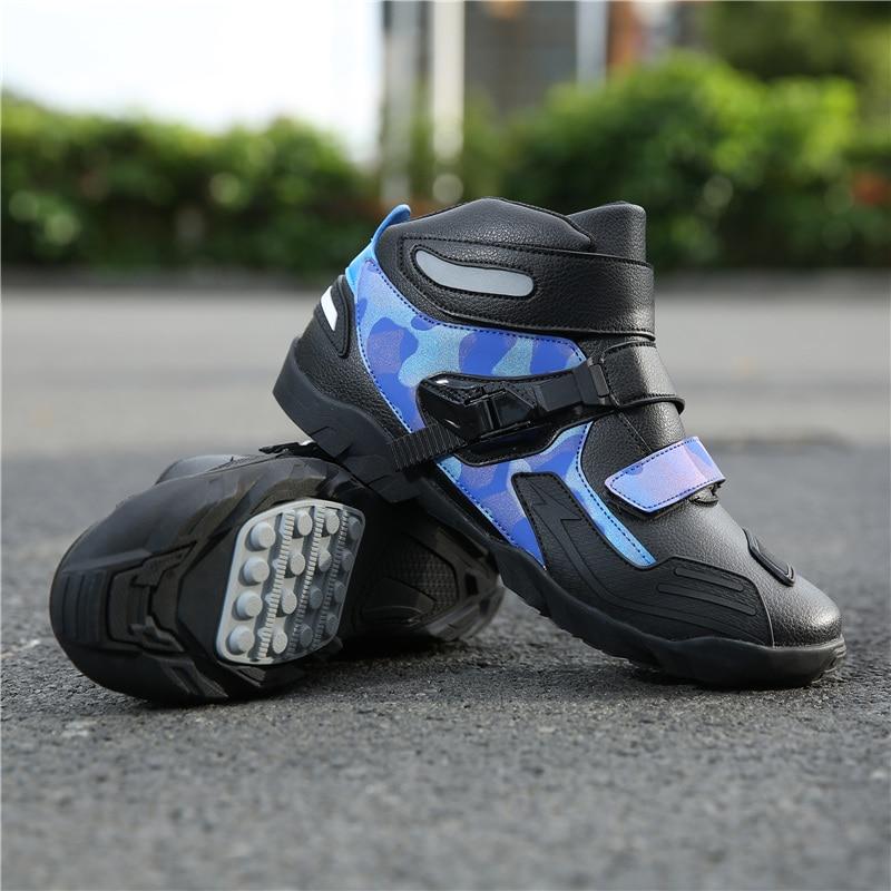 Große Größe Motorrad Motocross Racing Stiefel Schuhe Männer Frauen Fashion Outdoor Sprots Reiten Schuhe Wearable Größe 37-48