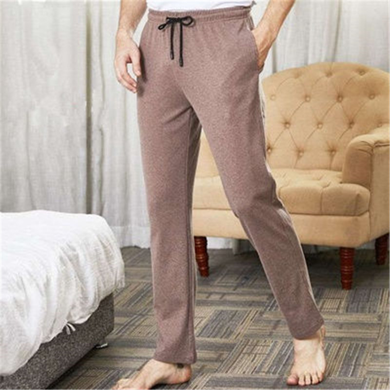 MEN'S Relax And Comfortable Household Pants Casual Sport Style Pajamas Home Long Pants Large Size MALE Cotton Loose Underwear