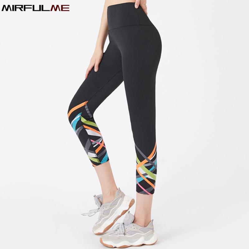 VUTRU Womens Yoga Capri Pants Sport Tights Workout Running Yoga Leggings with Side Pocket