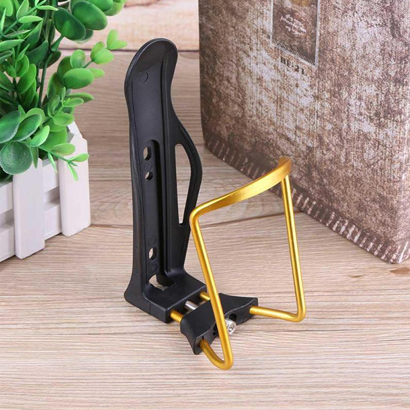 MTB Bike Bottle Holder Aluminum Alloy Adjustable Water Bottle Cage Sport Drink Water Bottle Hold Bicycle Accessories With Screw