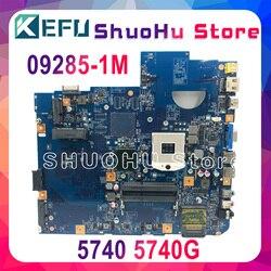 KEFU 5740G motherbaord dla Acer aspire 5740 5740G płyta główna 48.4GD01.01M 09285 1M HM55 DDR3 100% testowane oryginalny mianboard w Płyty główne do laptopów od Komputer i biuro na