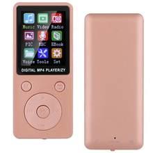 Vedio-reproductor mp4 T1, 8G, Bluetooth, compatible con tarjeta de memoria de 32G, botones redondos, reproductor de música