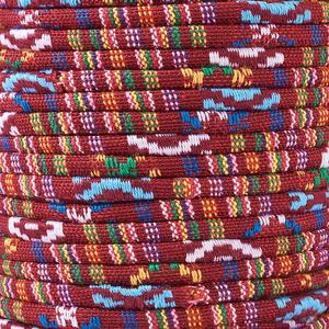Image 4 - 50yards/roll 4/6mm Rope Cloth Ethnic Cords Ropes Thread For DIY Jewelry Making Necklaces Bracelets Crafts Supplies Handmade