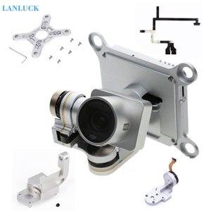 Image 1 - Repair Parts for DJI Phantom 3 Advanced Professional Drone Camera Yaw Arm Roll Bracket Flat Ribbon Cable Flex Gimbal Mount Motor