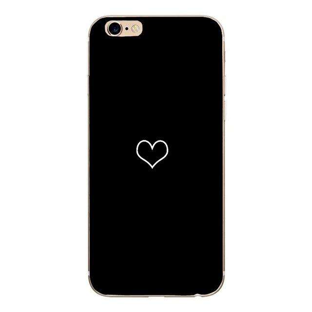 Dla Apple Iphone 7 przypadku miękkiej powłoki kwiaty tpu telefon tylna pokrywa skrzynka dla Iphone 6 6s 7 Plus 8 Plus 5 5S SE X XS Max XR Coque