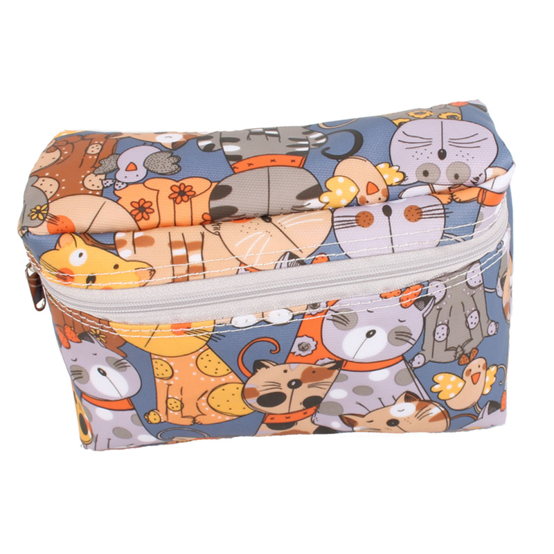 Waterproof Reusable Diaper Bag Cartoon Zipper Portable Diaper Bag Travel Stroller Diaper Bag For Baby Care Maternity Hangbag