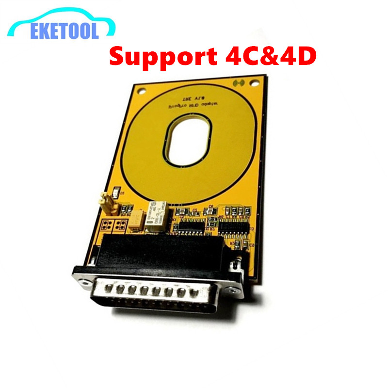 RFID Adapter For IProg+ IPROG Supports For Toyota 4C/4D 125kHz/134kHz Transponders For IPROG PLUS And IPROG PRO