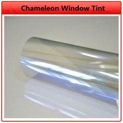 SUNICE VLT 80% samochodowa folia zaciemniająca okna kameleon szkło barwiące Auto Car House dekory samoprzylepna folia nanoceramiczna odcień samochodu folia słoneczna