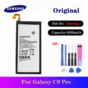 Newest Original Battery EB-BC900ABE For Samsung Galaxy C9 Pro SM-C9000 C9008 C900F C900Y Replacement Phone Bateria 4000mAh(China)