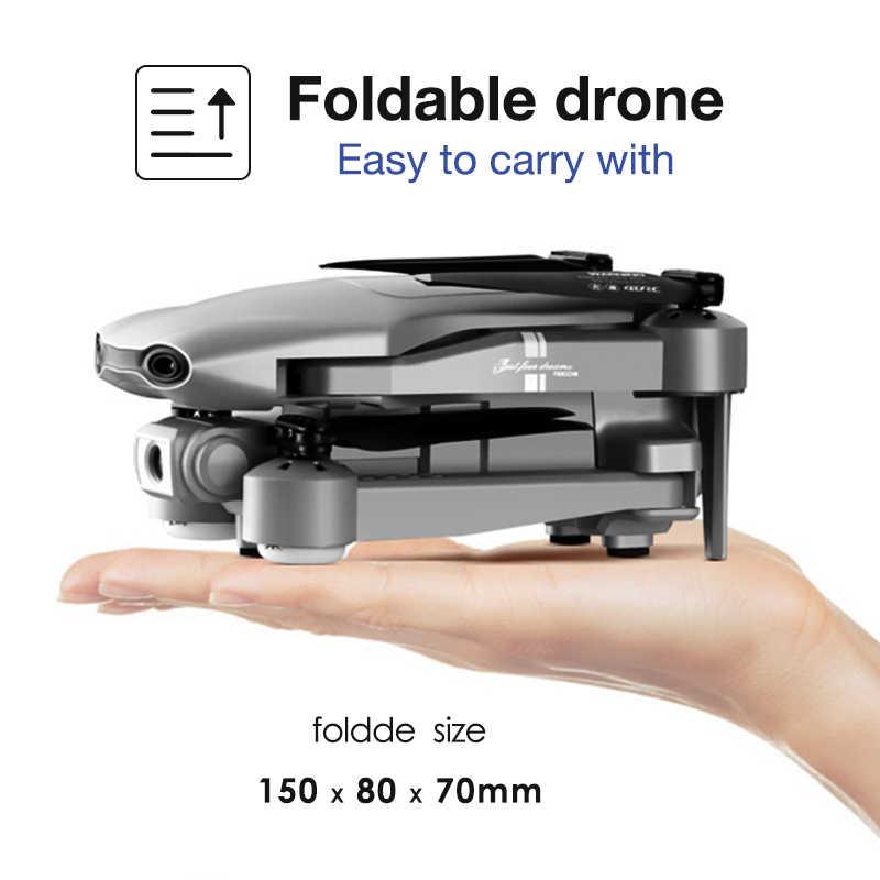 Hipac F3 ドローン gps 4 18k 5 2.4g 折りたたみ 4 18k/1080 1080p hd カメラ quadcopter フォローミー wifi fpv 25 分高度ホールド耐久性のある rc ドローン dron