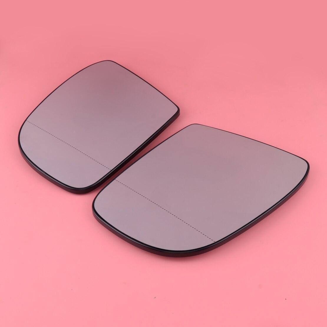 1 Pair Car Door Mirror Glass Heated 1648100719 1648100819 Fit for Mercedes Benz W164 W251 GL320 GL450 ML320 ML350 2007 2008