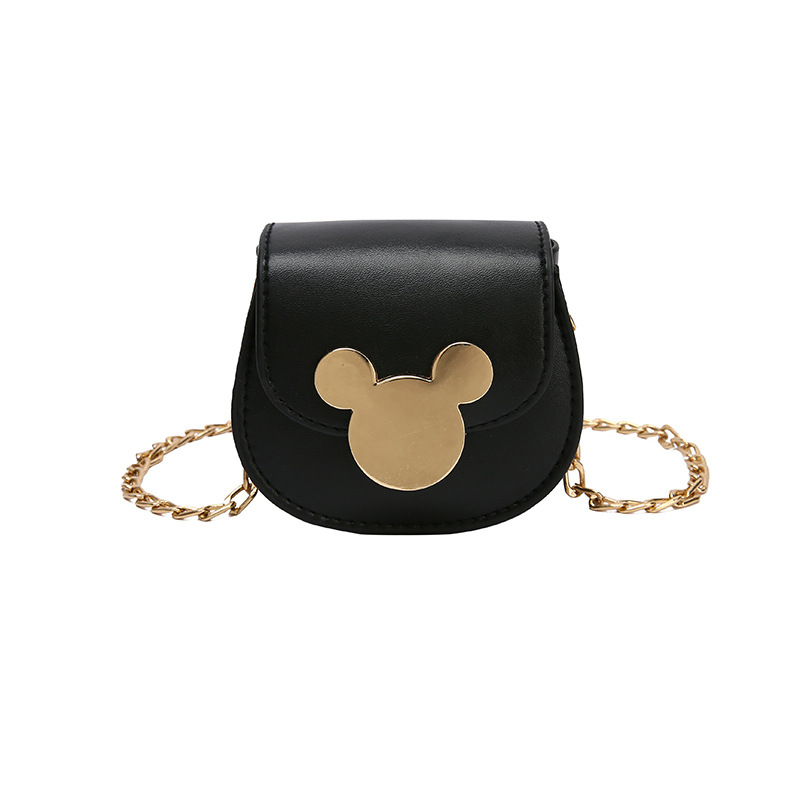 Disney Mickey Mouse Lady Messenger Shoulder Bag Female Handbag  Minnie Coin Purse  Women Shopping Bag