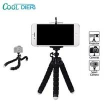 Octopus-Tripod Mini Camera Gopro Xiaomi Smartphone Flexible New for Sponge DIER COOL