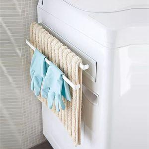 Image 5 - Phòng Tắm Nam Châm Giá Treo Khăn Vệ Sinh Cuộn Giấy Giá Đỡ Nhà Tường Bếp Nhà Tổ Chức
