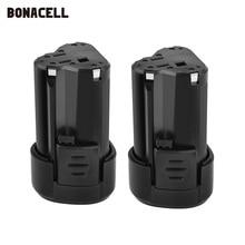 Bonacell For Worx WA3505 12V 3000 mAh Li-Ion Akku WA3553 WA3503 WA3505 WA3509 WX128 WX382 WX530 WX673 replacement battery L50