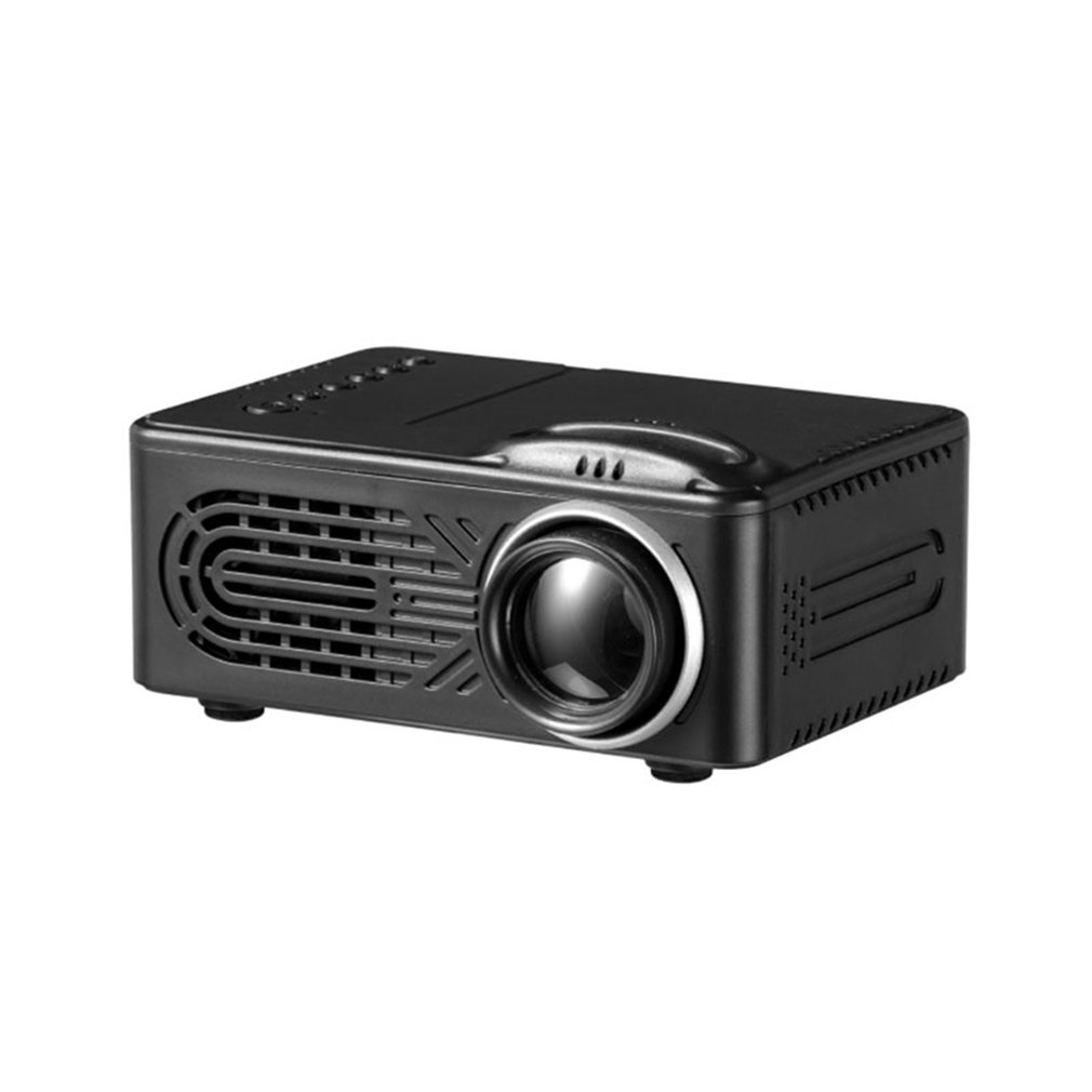 814 Mini Micro Portable Home Entertainment Projector Supports 1080P 4K Hd Mobile Phone Connection Projector 1