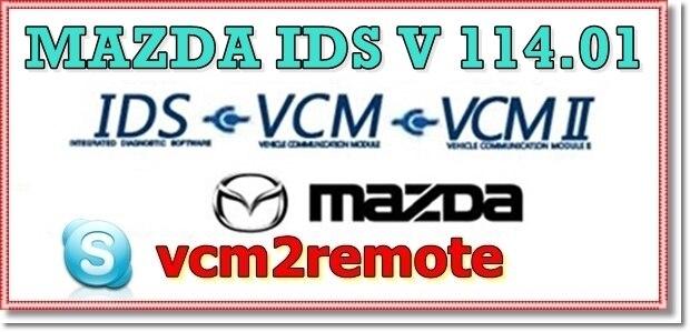 עבור מאזדה IDS תוכנה 120 + (באינטרנט + מנותק) כיול האם להתקין מרחוק תמיכת IDS שחרור רמת IDS 109