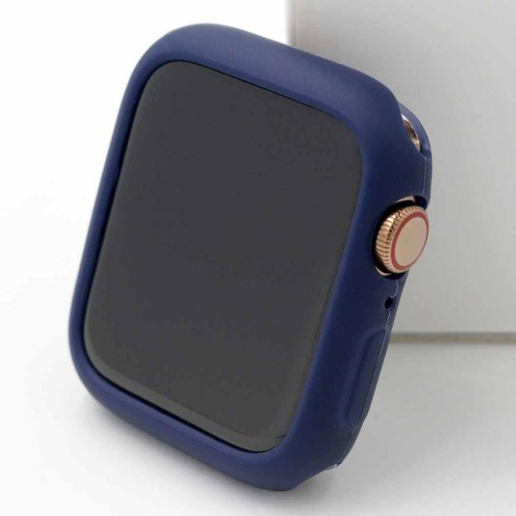 Étui de couleur bonbon pour apple watch series 5 4 3 2 1 protecteur de couverture coloré pour iWatch 38 42 40 44mm