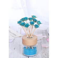 5 шт., искусственные цветы, волнистые Ротанговые тростники, Ароматический диффузор, Сменные палочки, освежитель воздуха, ароматизаторы для комнаты, диффузоры, палочки