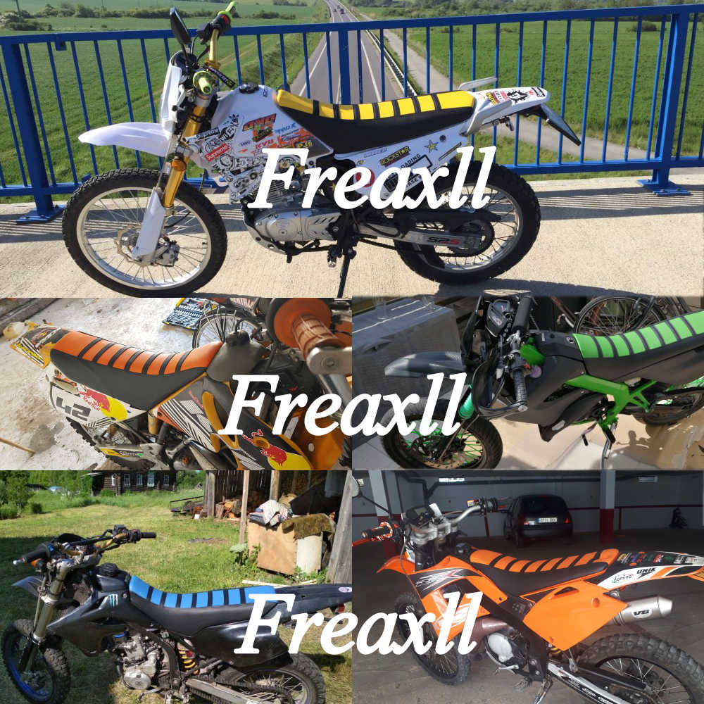 Para Honda XADV X-ADV 750 XADV750 2017-2018 Universal pinza suave cubierta de asiento de motocicleta Rib Skin goma Dirt bicicleta Enduro
