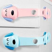 Children's Safety Lock Drawer Lock Baby Anti Grip Cabinet Sliding Door Lock Baby Protection Refrigerator Lock