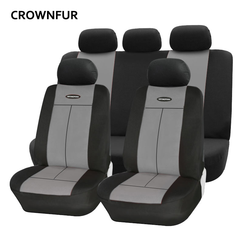 Universal fashionable car seat covers Fit for most cars polyester elastic Automotive interior for Toyota Nissan BMW Mazda Ford