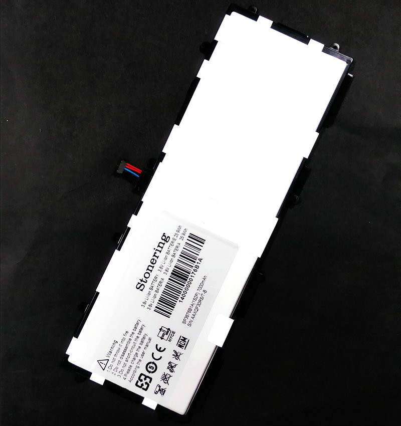 Stonering 7000mAh Battery for <font><b>Samsung</b></font> Galaxy Note 10.1 Tab 2 <font><b>GT</b></font>-<font><b>P7510</b></font> <font><b>GT</b></font>-7511 <font><b>GT</b></font>-N8010 <font><b>GT</b></font>-P5100 <font><b>GT</b></font>-P5110 <font><b>GT</b></font>-N8000 SP3676B1A image