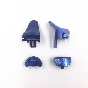 Image 3 - โลหะอลูมิเนียมL1 R1 L2 R2 Extender Triggerปุ่มControllerสำหรับSony Playstation 4 Pro PS4 Pro JDM 040 JDS 040 JDM 055