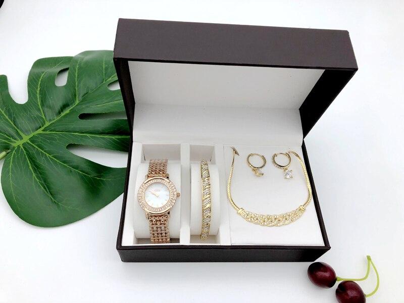 de presente conjunto cisne preguiçoso relógio feminino
