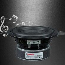 Kaolanhon 4 inç 100W 4 ~ 8ohm amplifikatör hoparlör DIY ev ses Subwoofer yüksek güç hoparlör yuvarlak kare 65 hz 3500Hz uzun strok