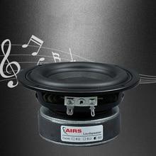 Kaolanhon 4 inch 100W 4~8ohm Amplifier Speaker DIY Home Audio Subwoofer High Power Speaker Round Square 65Hz 3500Hz Long Stroke