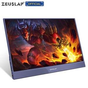 Image 3 - ZEUSLAP dünne tragbare lcd hd monitor 15,6 usb typ c hdmi für laptop, telefon, xbox, schalter und ps4 tragbare lcd 1080p gaming monitor