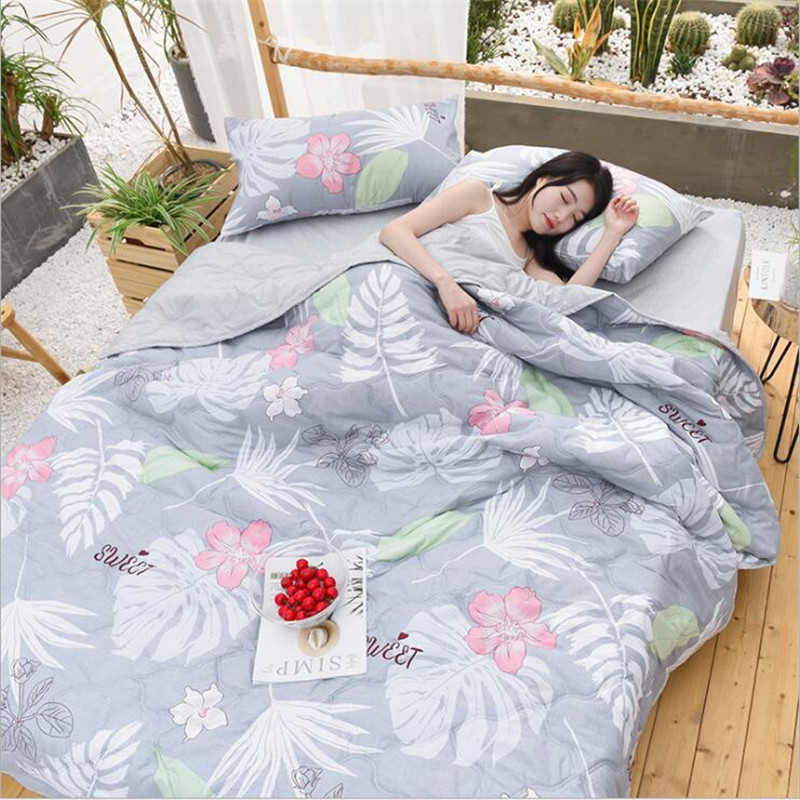 Home Textile New Bedding Summer Quilt Blankets Thin Comforter Washable Bed Cover Quilting Home Textiles Suitable For Adults Kids