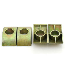 M8 Half Moon/Crescent Nut Washers For Bunk Bed Cots Furniture Connecting Screws Assembly Fittings Color Zinc Plating